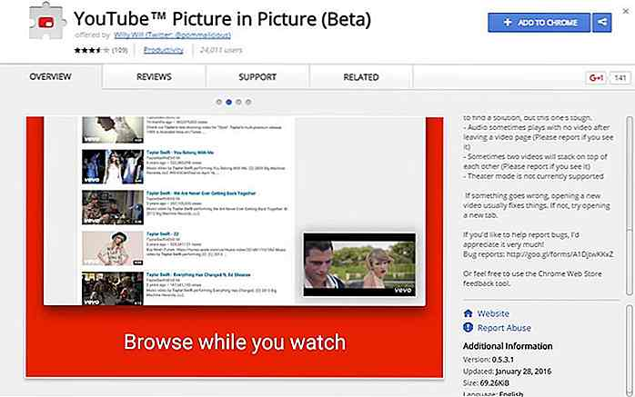 Slik bruker du YouTube PiP-modus i Chrome Browser