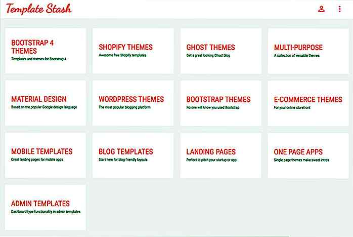 Downloaden Sie Hand-Picked Free Themes im Template Stash