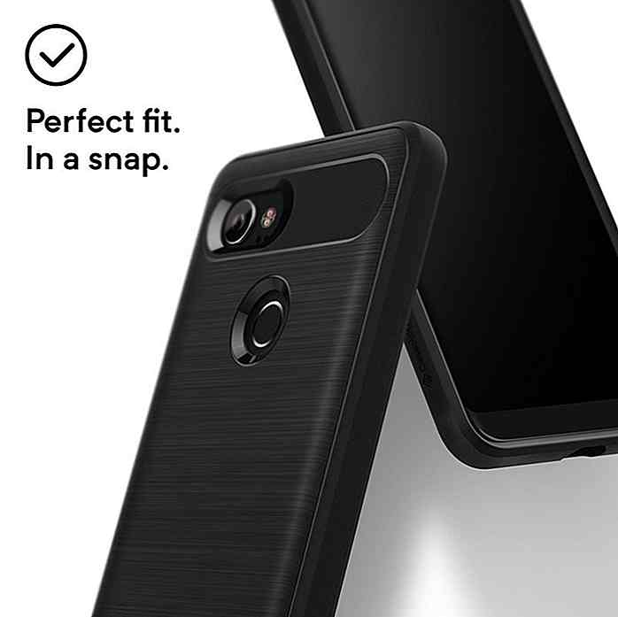 Tech 21 Evo Max Series Estuche rígido Protectora Para Google Pixel 3-Negro