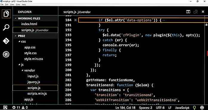 Comment personnaliser le code Visual Studio