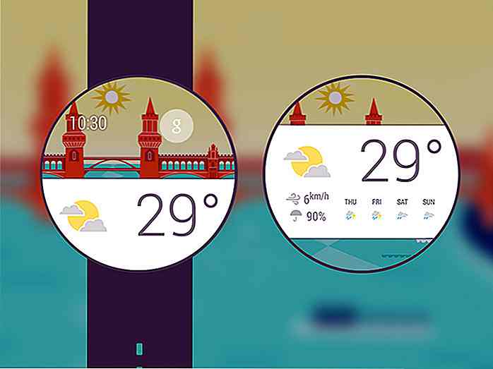20 remaniements poignet-Worthy Smartwatch UI