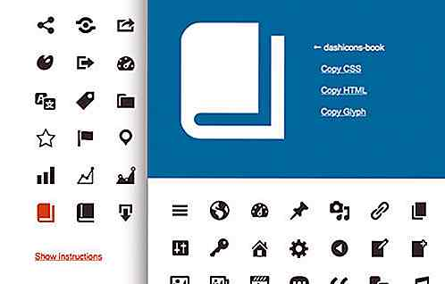 Come usare Dashicons in tema WordPress o Plugin