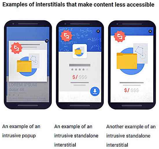 Google wird mobile Websites mit nervigen Pop-ups bestrafen