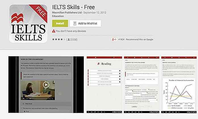 15 applications Android pour IELTS, TOEFL & GRE Préparation