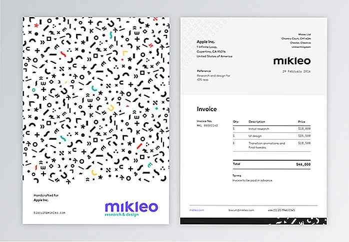 50 Kreative Rechnung Designs Für Ihre Inspiration Dehideout