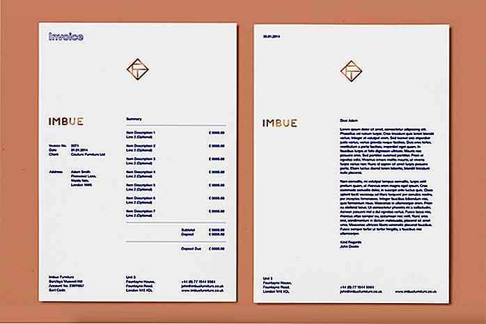 3002d1d76cc63a 50 kreative Rechnung Designs für Ihre Inspiration - de.hideout ...