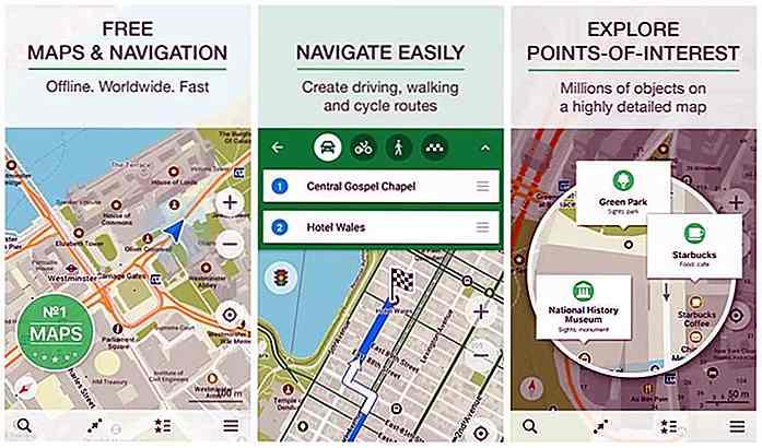Beste Offline GPS Karten Apps für Android & iOS [2017] - de.hideout ...
