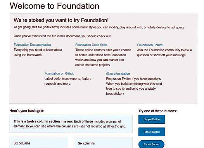 Construya sitios web Superfast con Foundation 5 [A Guide]