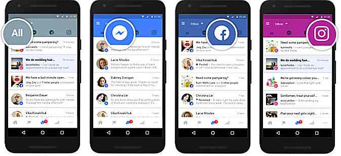 Facebook, Messenger en Instagram krijgen een uniforme inbox