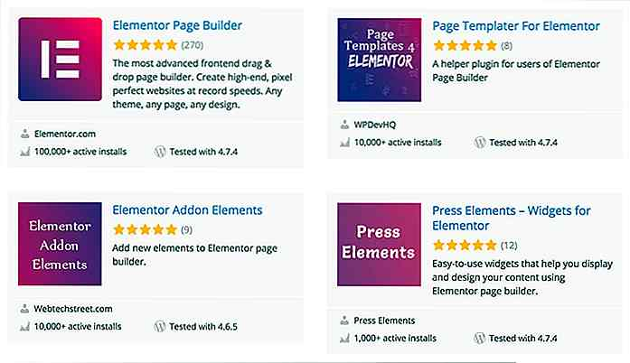 Elementor est le plus chaud WordPress Page Builder dès maintenant