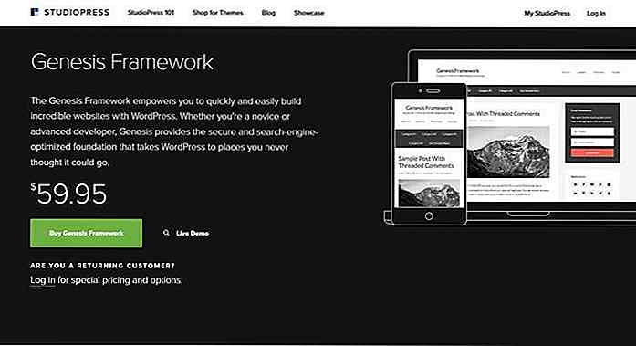 10 leistungsstarke WordPress Theme Frameworks [Reviewed]