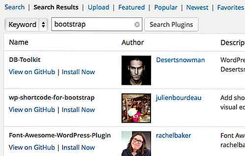 Zoek en installeer WordPress-plug-ins via Github