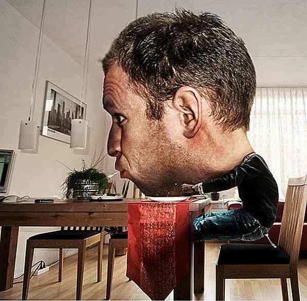 "20 kreative ""Big Head"" Foto-Manipulationen"