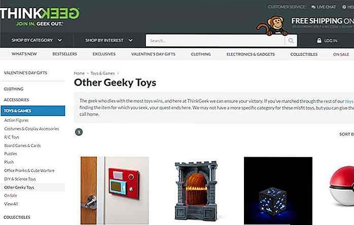 1afb7725 Det lister alle typer geeky hjemmeartikler, klær, tilbehør, smykker, leker,  gadgets og alt i mellom . Du kan også finne sjeldne samleobjekter  tilgjengelig i ...