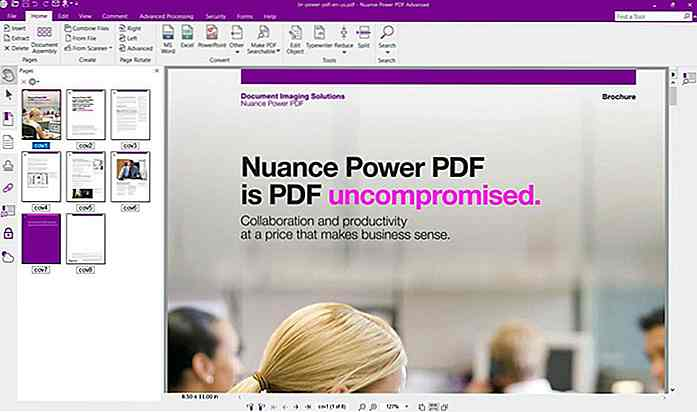 Nuance Power PDF: Meilleure alternative Adobe Acrobat