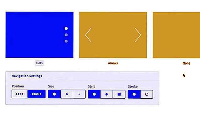 Ein Überblick über Designmodos Slides Framework - de hideout
