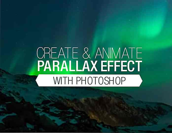Parallax-effect in fotografie [handboeken van Photoshop]
