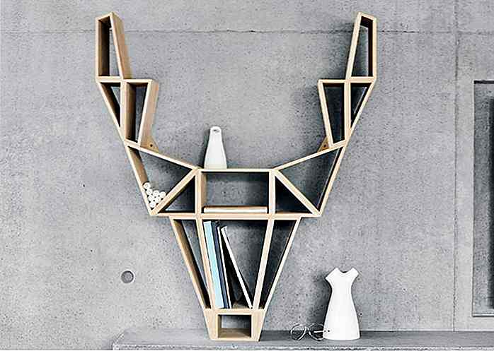 Wonderful 25 kreative bokhylle design du må se - no.hideout-lastation.com WM-28