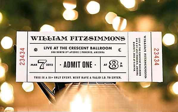 20 kreative ticket designs die große andenken machen de hideout
