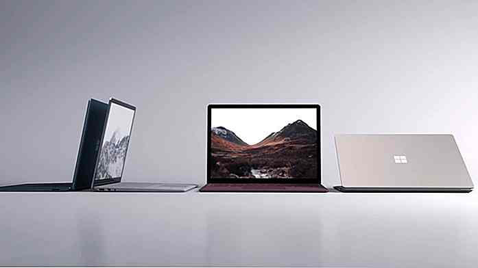 Alles über Microsoft Surface Laptop und Windows 10 S