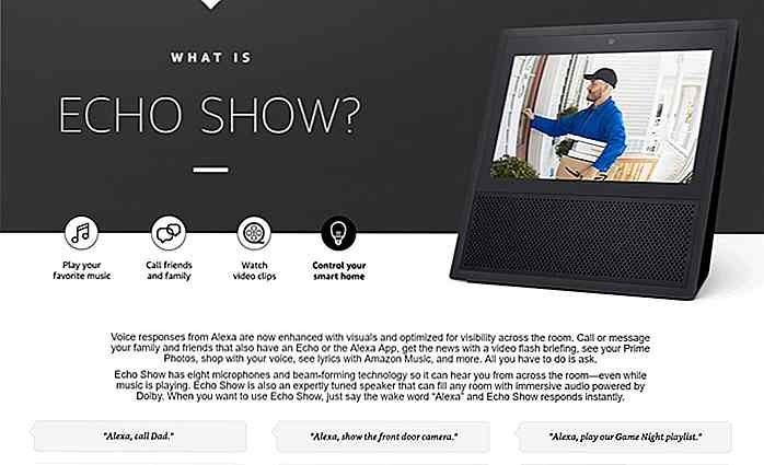 Amazon Echo Show - Den nyeste Alexa-drevne Smart Device