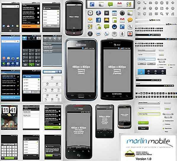 Kostenlose Prototyping-Vorlagen Für Mobile Geräte