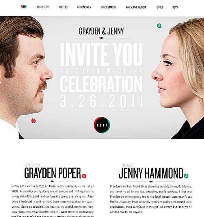 best wedding websites - 700×743