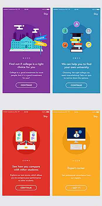 40 Mobile Apps Onboarding Designs für Ihre Inspiration