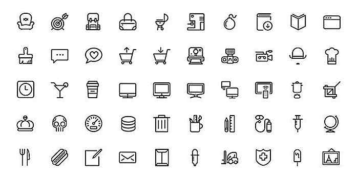 20 gratis, multifunctionele iconsets die u moet bookmarken