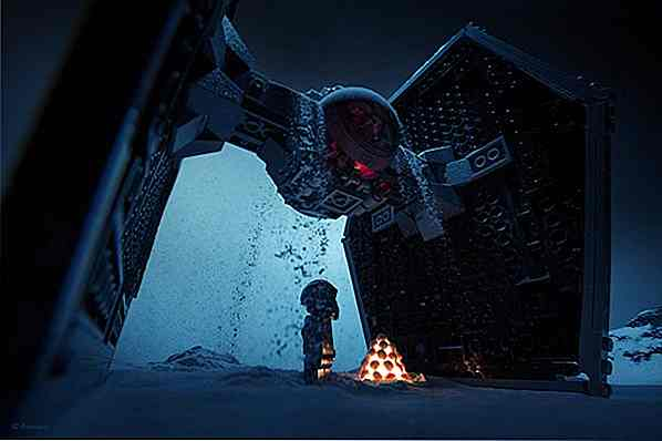 15 scene di Star Wars reimmaginate con Lego