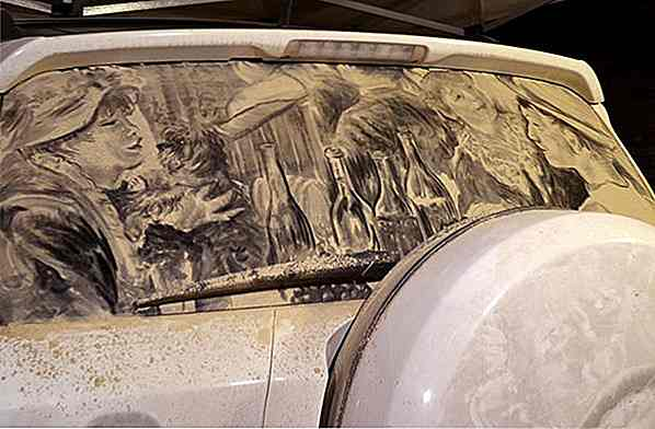 Stunning Dirty Car Art Du må se