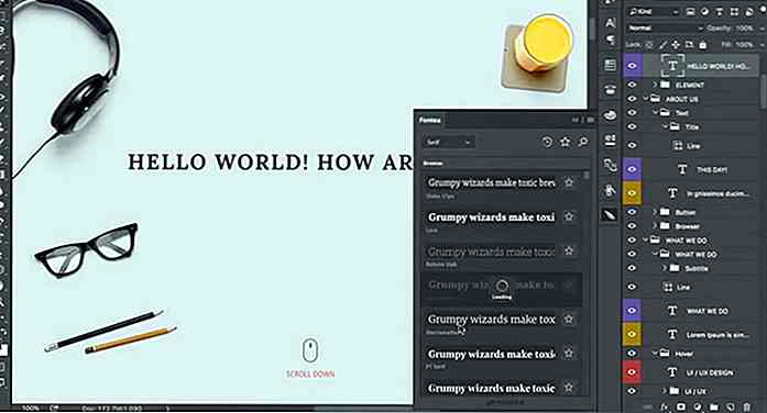 Voeg Google Fonts toe aan Photoshop met Fontea Photoshop Plugin