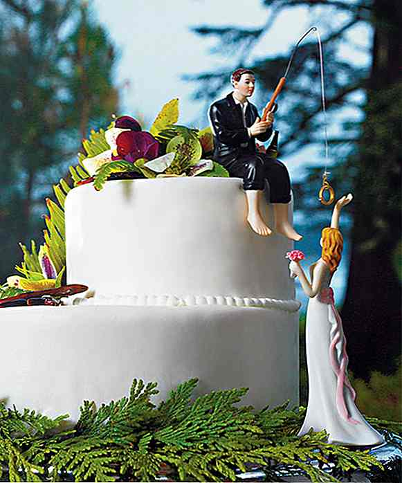 20 Creative Wedding Cake Toppers For Din Inspirasjon